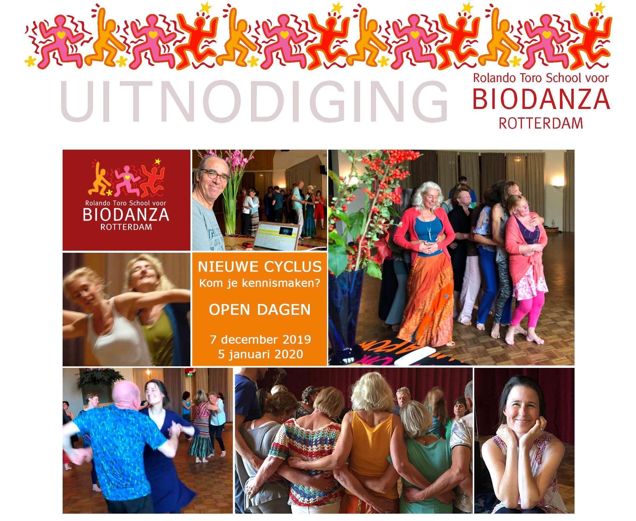 Open dag Ik Hou van Jou, Biodanzaschool Rotterdam