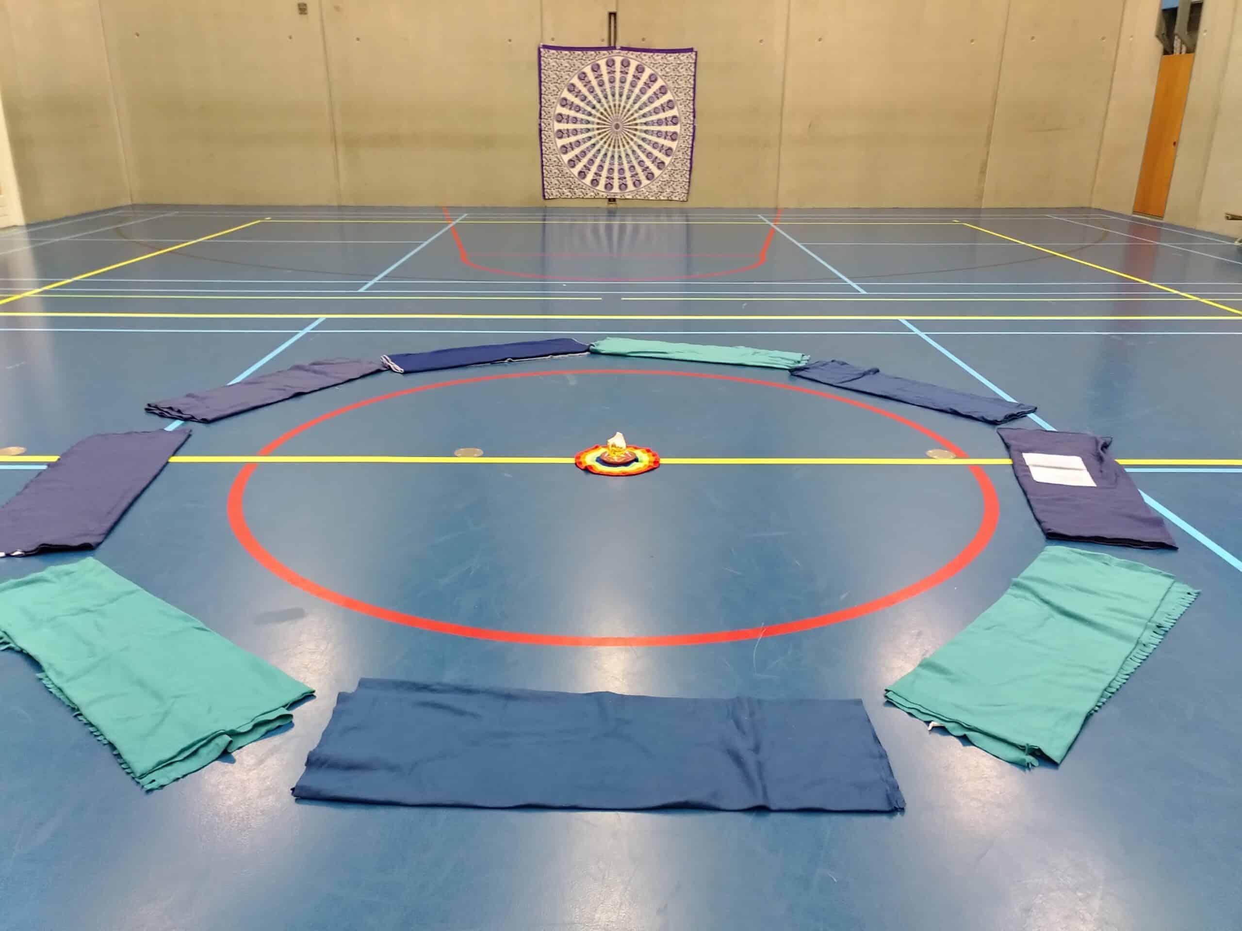 De gymzaal van binnen (Beukenrode Onderwijs)