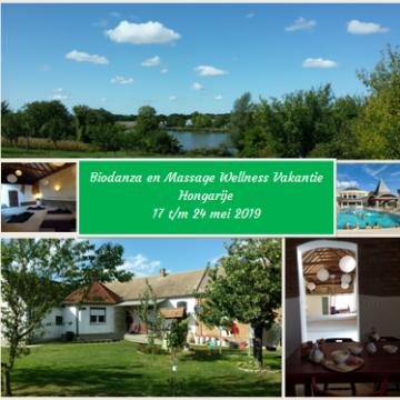 """Biodanza en Massage Wellness vakantie Hongarije 2019 """"Terug naar de natuur"""""""