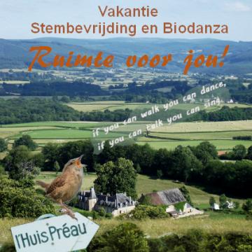 Vakantie: Stembevrijding & Biodanza (Coronaproof!)