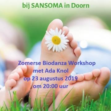 Zomerse Biodanza Workshop tijdens de SanZomerdagen