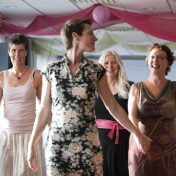 Biodanza kennismakingsgroep voor vrouwen met Geny in Gouda