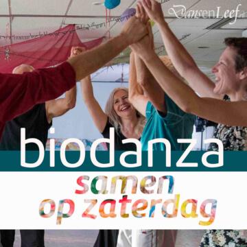 Valentijns 'biodanza samen op zaterdag' avondworkshop met Hans Gierkink en Geny Wuestman