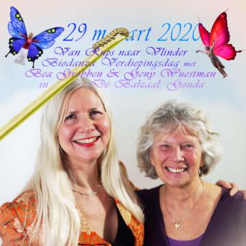 Biodanza verdiepingsdag met Geny Wuestman en Bea Grobben Van rups naar vlinder
