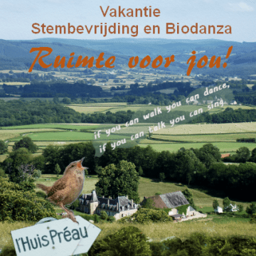 Vakantie: Stembevrijding & Biodanza
