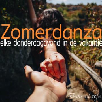 Zomerdanza, biodanza  op donderdagavond in de zomervakantie voor ervaren dansers  in Gouda