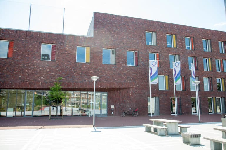 afbeelding buitenkant O3 gebouw Den Haag