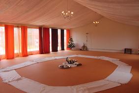 Danszaal speciaal voor Biodanza